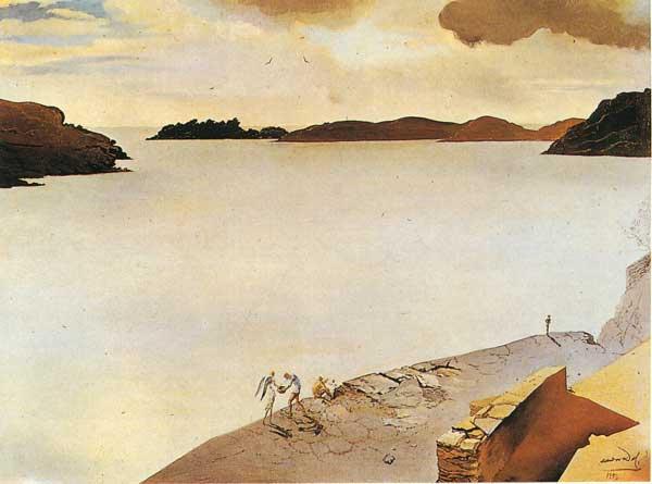 Сальвадор Дали. Пейзаж. Порт Льигате
