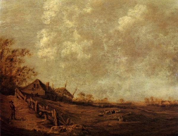 Ян куленбир 1600 после 1677 пейзаж